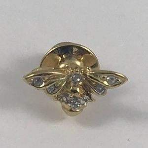 Vintage Butterfly/Bee Tie Pin Vintage Mens Jewelry